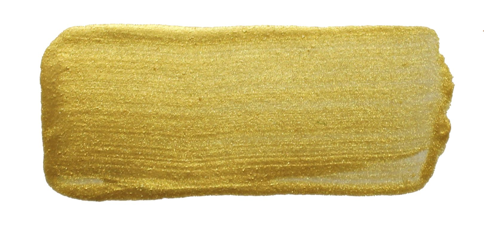 Chroma Molten Metals Dorado Gold Handpainted Color Swatch