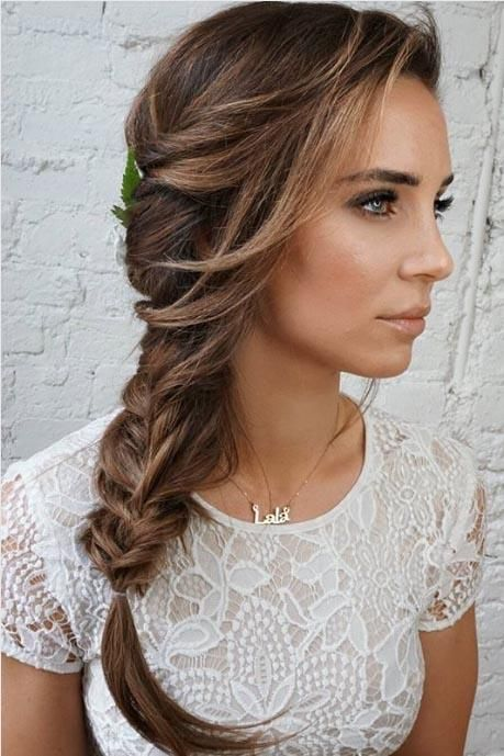25 Gorgeous Wedding Hairstyles For Long Hair Braided Hairstyles For Wedding Guest Hair Hair Styles