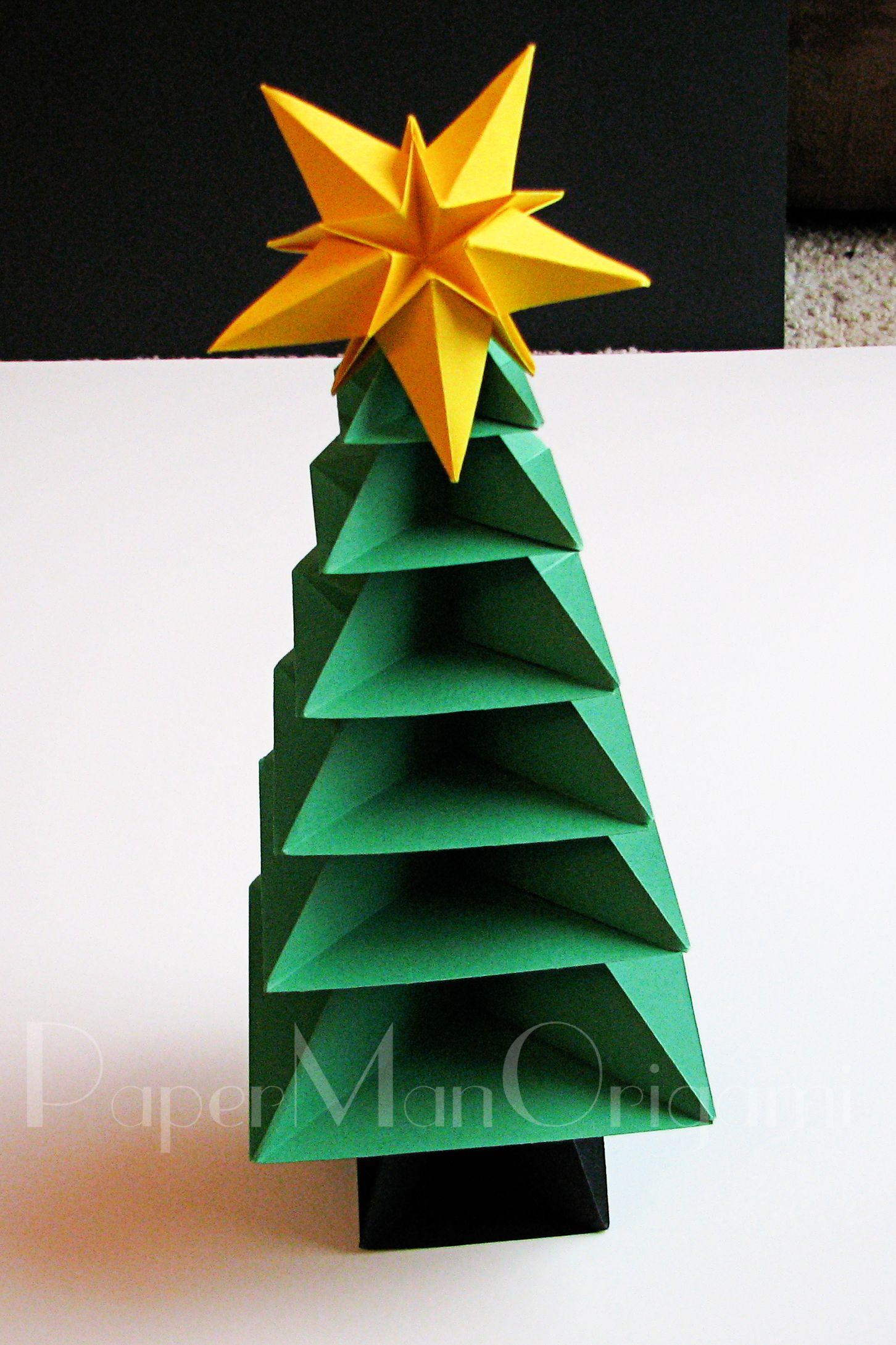 Origami Christmas Tree Tutorial 36 Copypmowatermarked 2