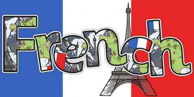 French Title Display Lettering | Display lettering, Learn to speak french,  French for beginners