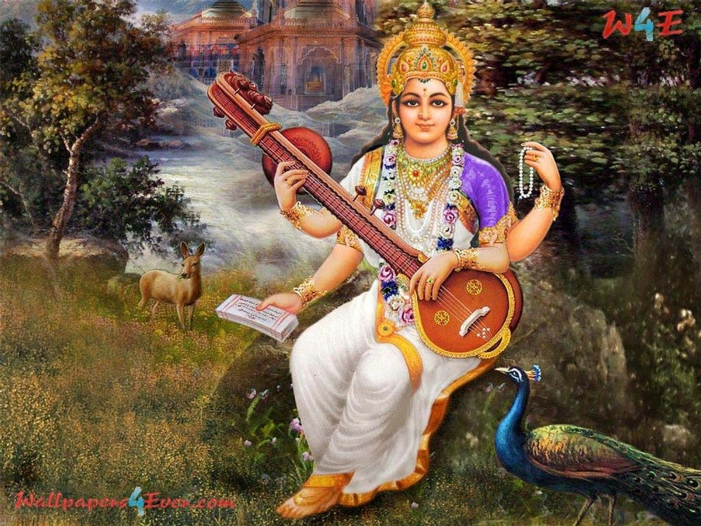 Simple Wallpaper Lord Saraswati - 4bf14a813f2fb18e23cc3c7fdd26fc3f  Snapshot_939412.jpg