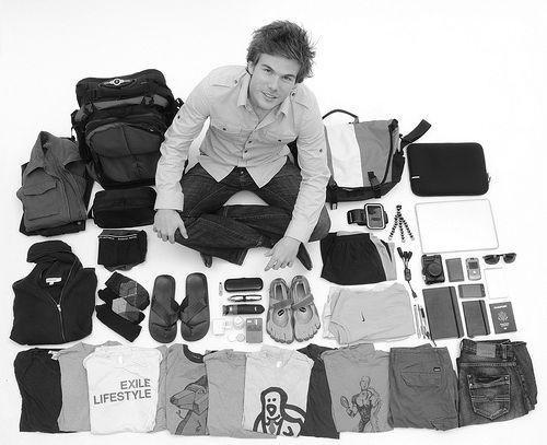 Colin Wright e o estilo de vida minimalista.