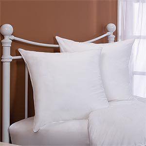 26X26 Pillow Insert Custom Set Of 2  26X26 Down Alternative Square Euro Pillow Inserts 400Tc Decorating Inspiration