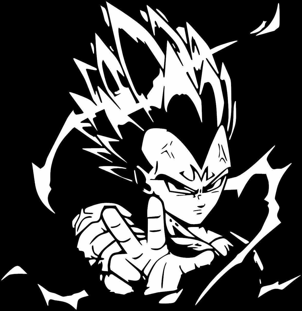 Dragon Ball Z Japanese Anime Power Up Vinyl Decal Sticker Goku