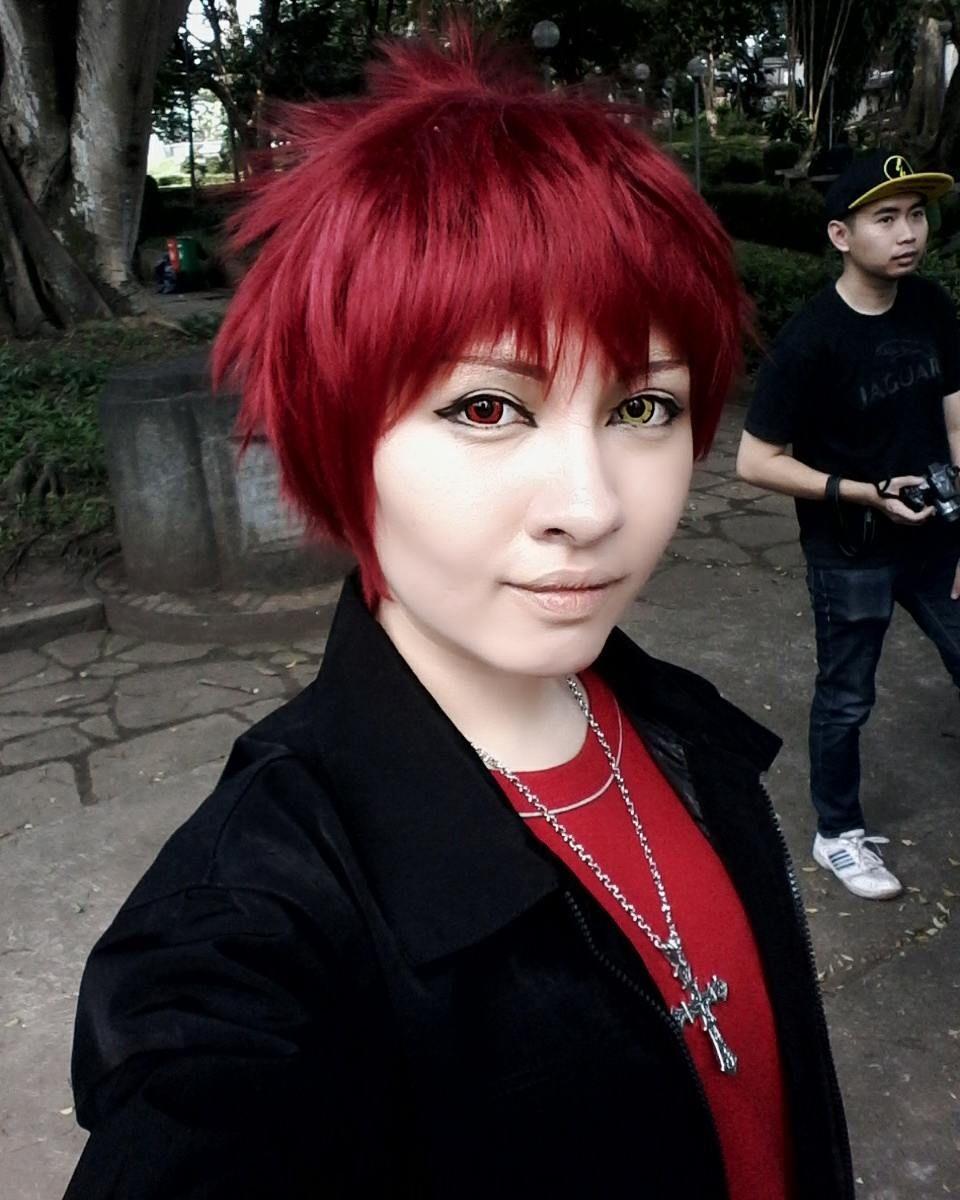 Hey girl wanna go on a date with me? Photobomb : @zendy_natanael  #cosplay #cosplayer #selfie #cosplayselfie #anime #animecosplay #animeboy #kurokonobasket #knb #knbcosplay #Akashi #AkashiSeijuro #casual