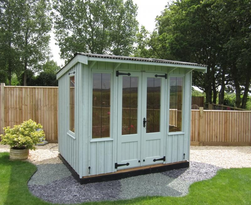 Ordinary Small Garden Houses Uk Part - 11: Sloped Roof Shed - Google Search · Garden BuildingsGarden HousesAnimal ...