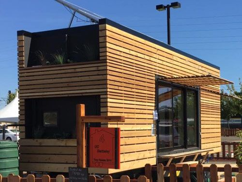 the tiny house competition build small and win big is a new rh pinterest com