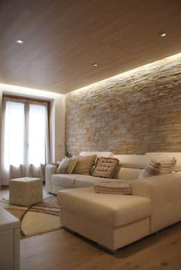 R stica y minimalista un casa que te va a encantar estar pinterest living room living for Interiors modern home furniture woodbridge va