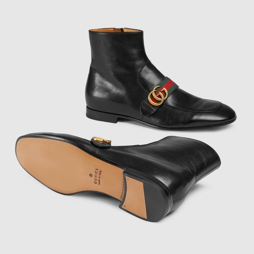 Gucci boots mens, Mens designer boots