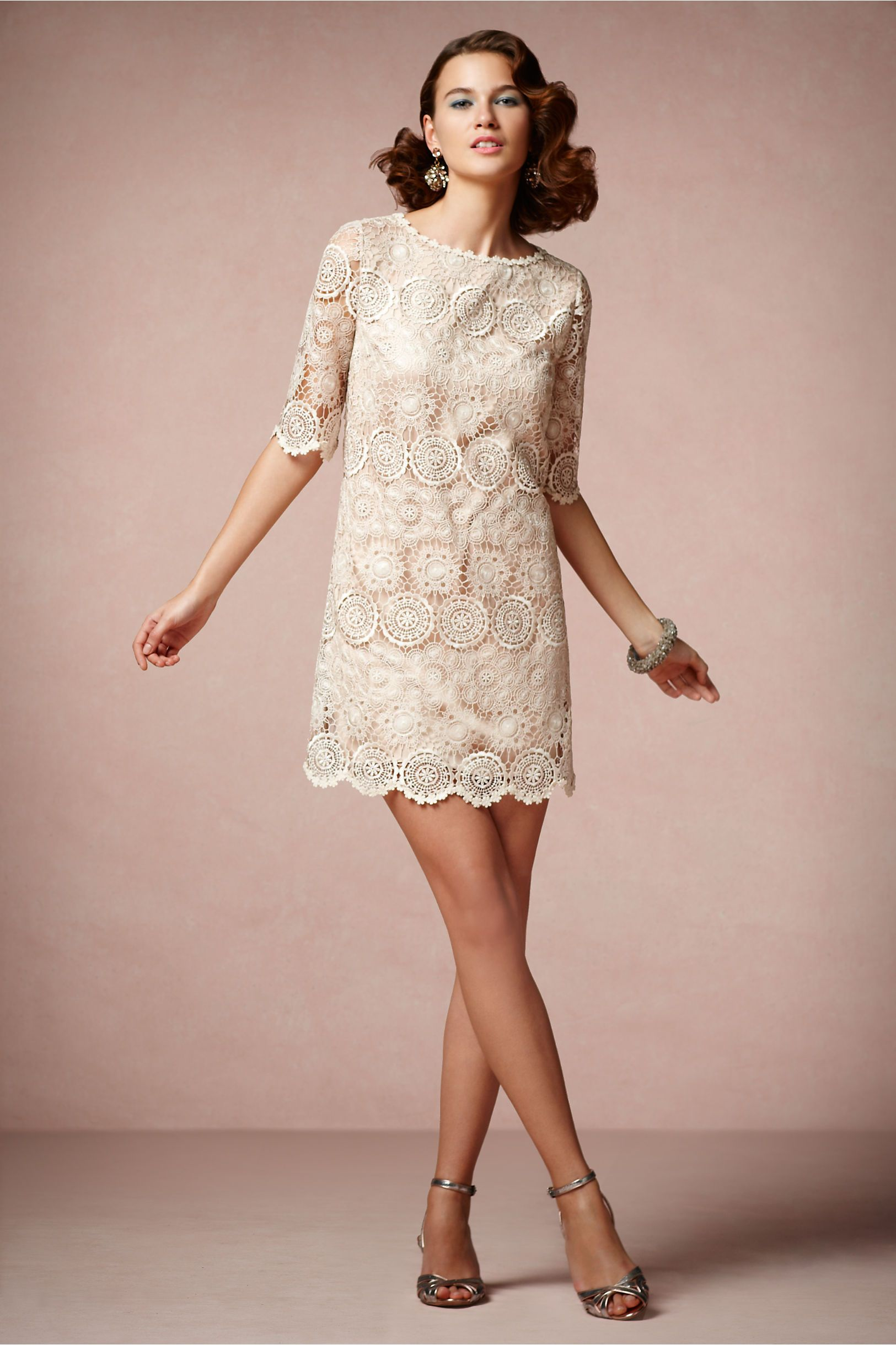 Agata Swing Dress from BHLDN | Wedding | Pinterest | Vestiditos ...