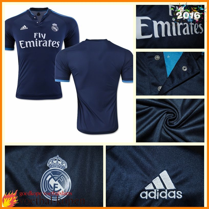 De Mooiste Real Madrid 3e Shirt 15 2016/2017 Nederland