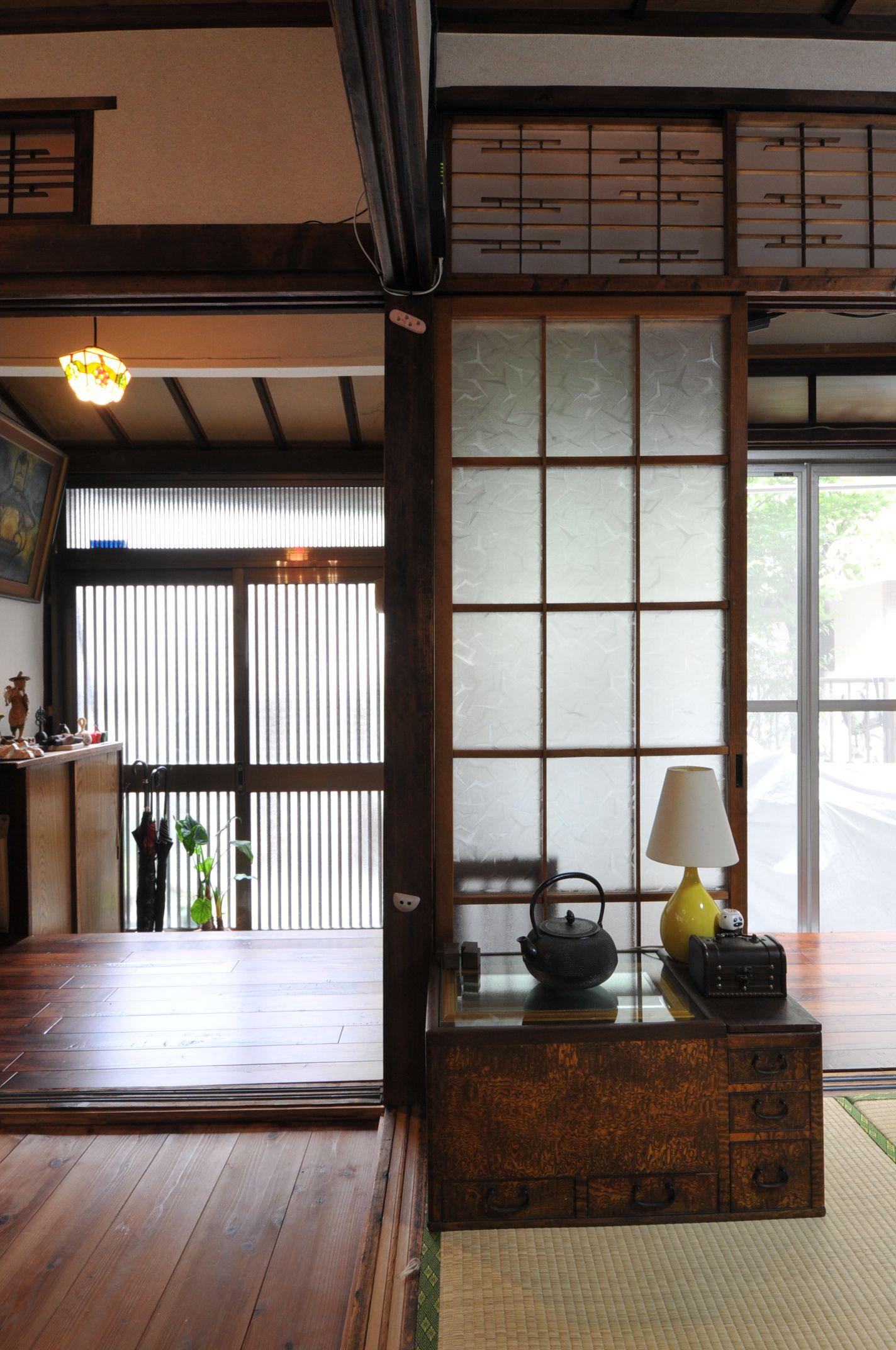 Japanese interior architektur pinterest japanische for Traditionelles haus japan
