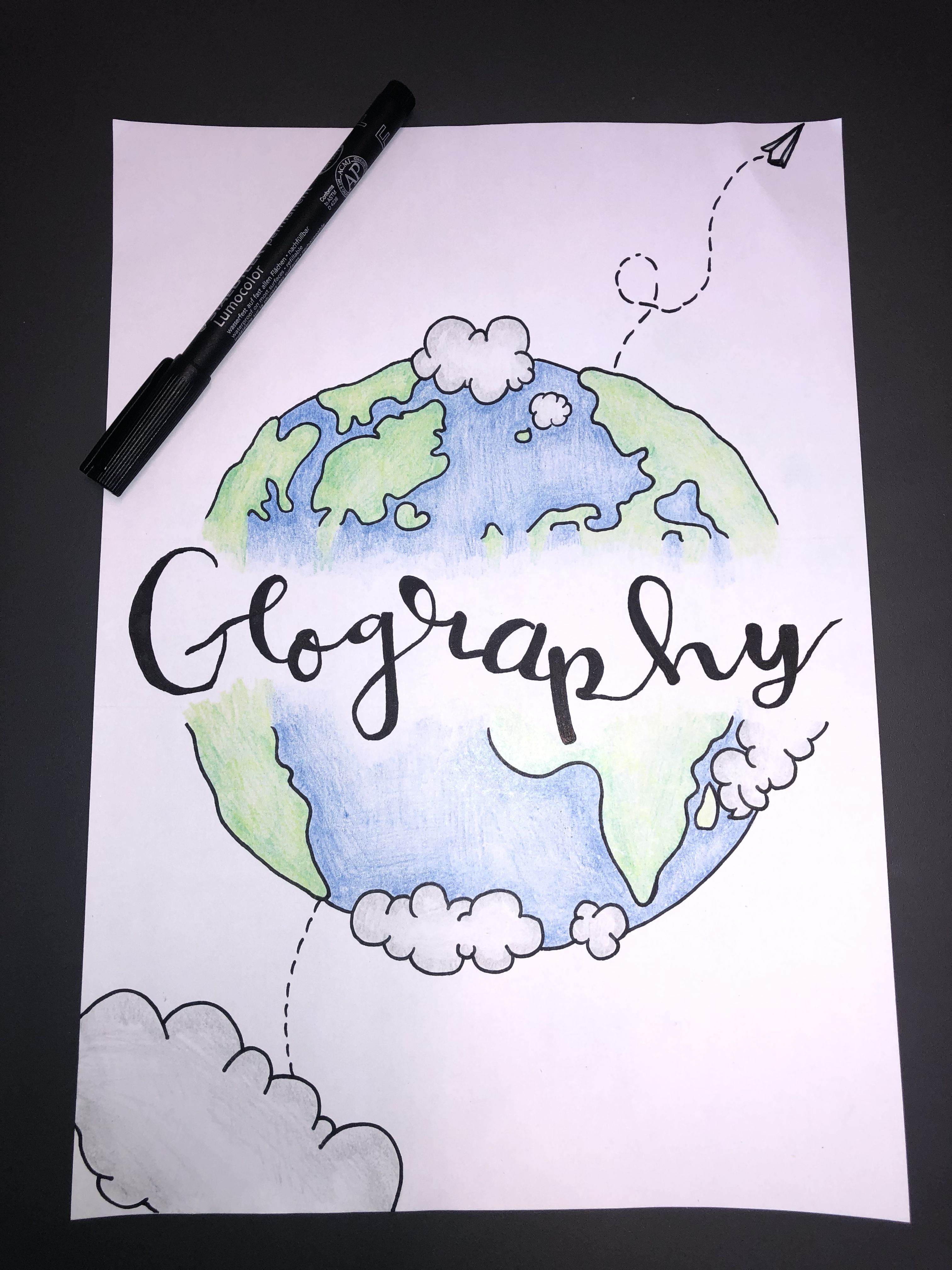 Geography Cover Page