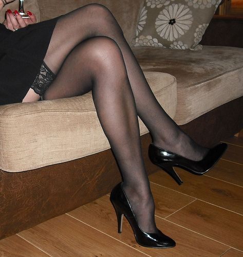 Fine who carries leggs pantyhose love cum