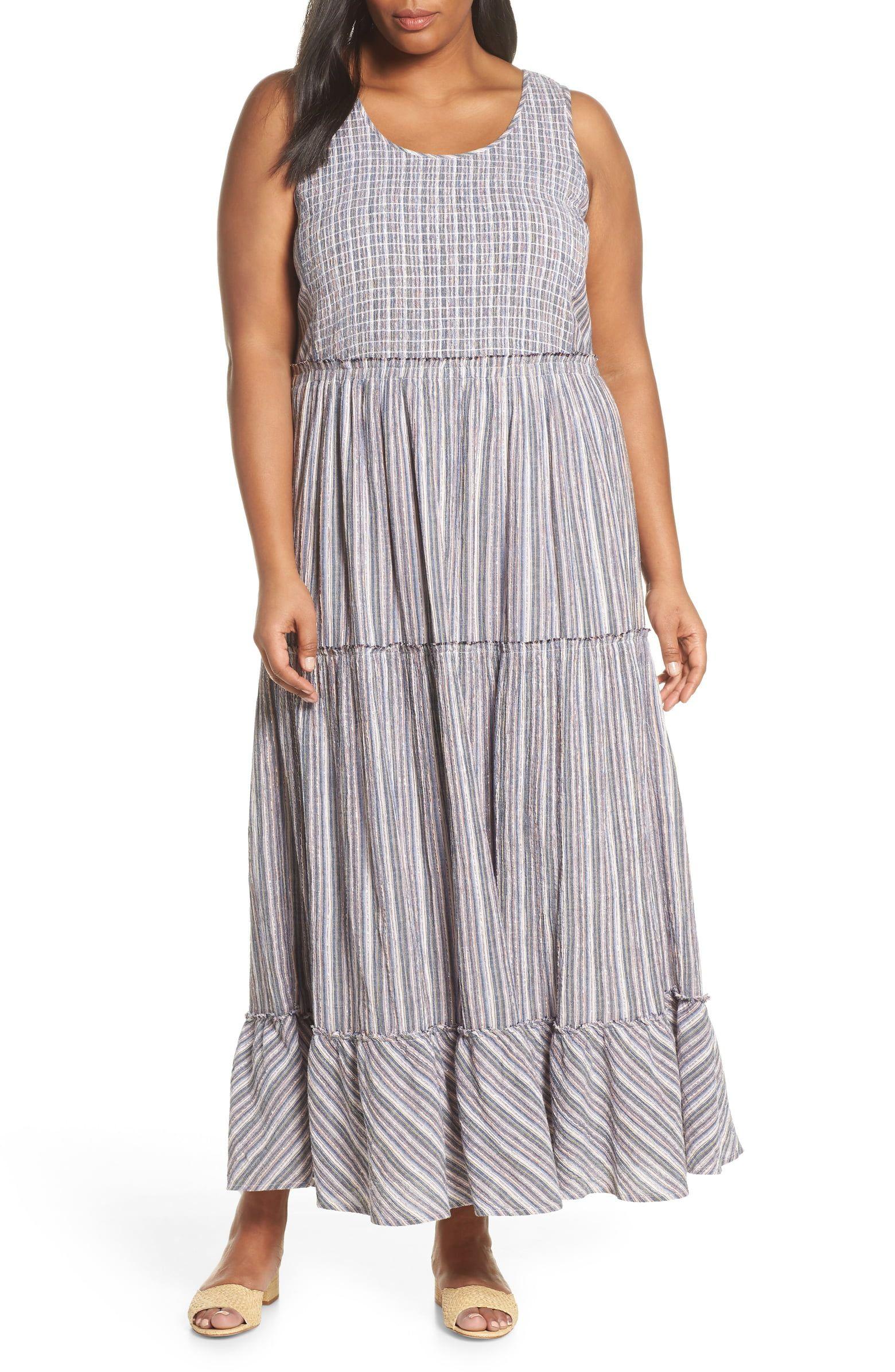 Caslon Tiered Smocked Maxi Dress Regular Petite Plus Size Nordstrom Maxi Dress Smocked Maxi Dresses Dresses [ 2392 x 1560 Pixel ]