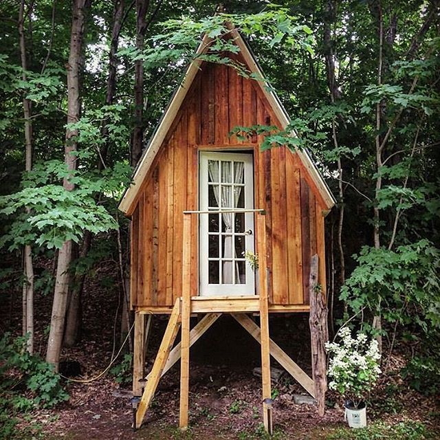 Think Of This Quebec Canada Cabin As A Micro Chalet It S The