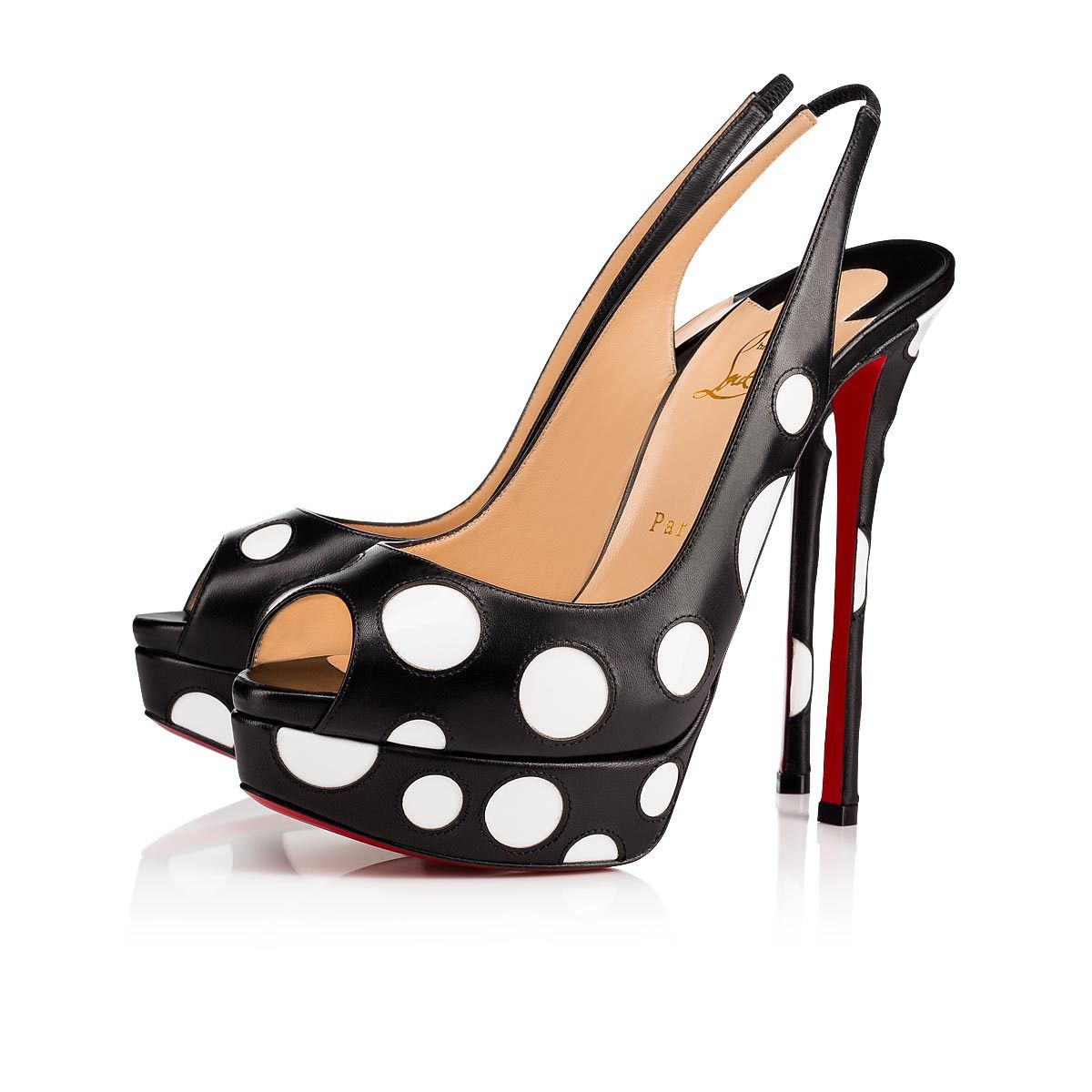 0b1d44d0c402c Christian Louboutin United States Official Online Boutique - Bubble Up 150  Black Latte Leather available online. Discover more Women Shoes by Christian  ...