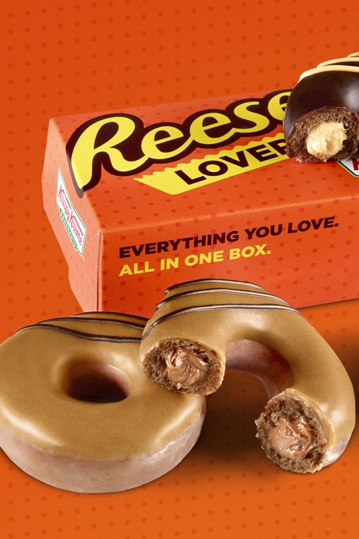Krispy Kreme Doughnuts Are Being Filled With Reese's Cream, and I NEED A DOZEN