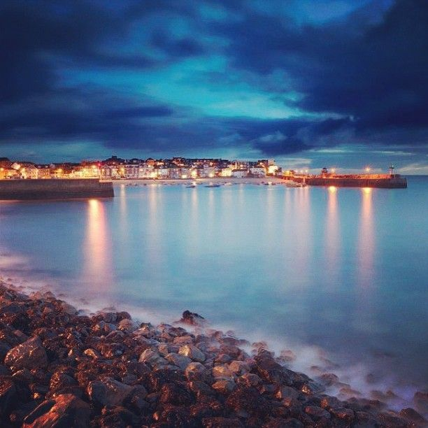 St Ives by night. Beautiful.
