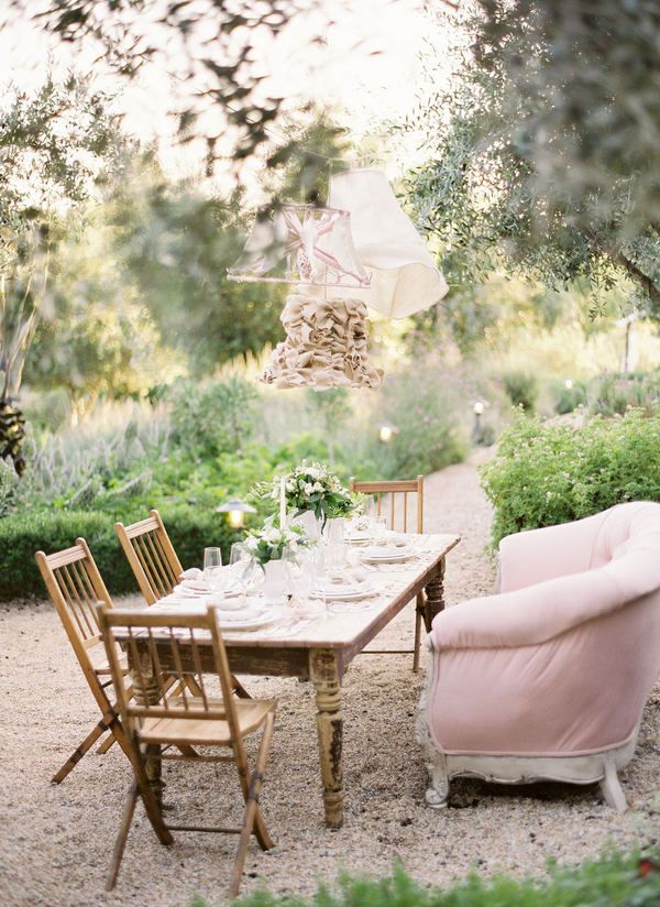 perfect spot for a small summer dinner party O a s i s Pinterest