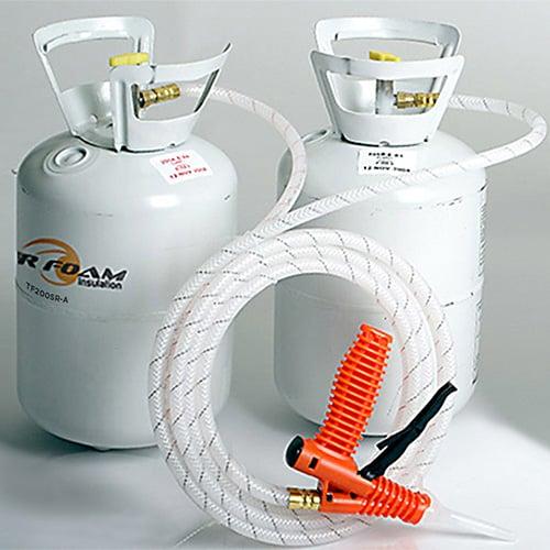 Tiger Foam Spray foam insulation kits, Diy spray foam