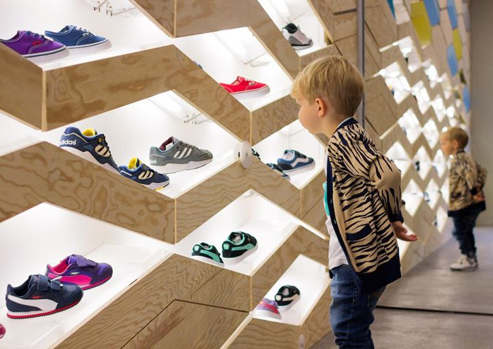 Suppakids sneaker store by ROK, Stuttgart – Germany » Retail Design Blog