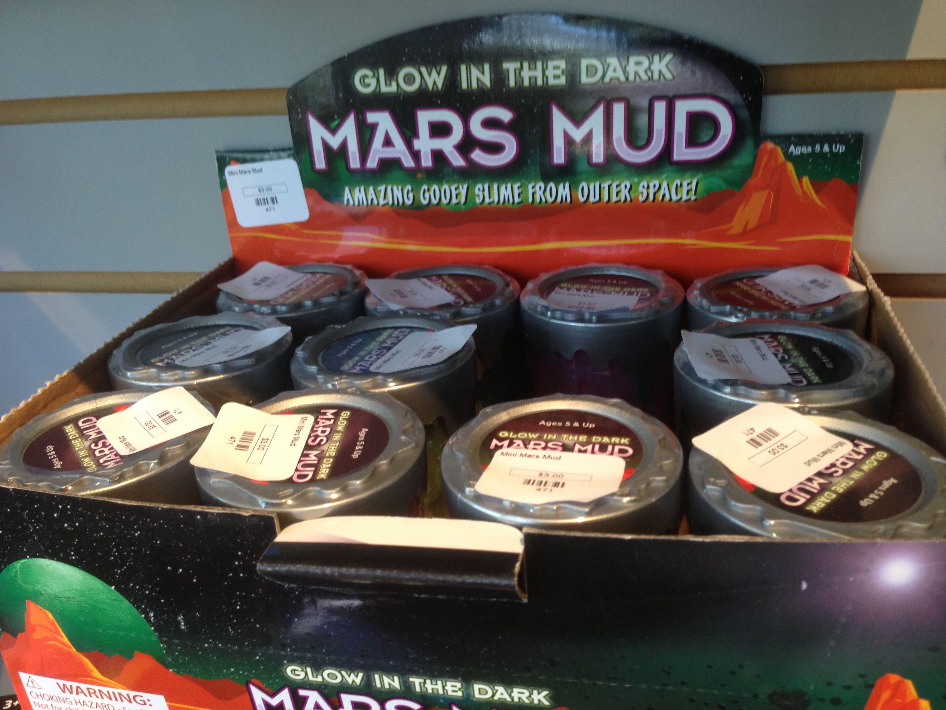 Mars Mud - at the NASA Ames Research Center gift shop ...