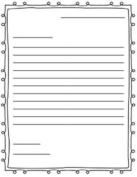 how to write a letter templates
