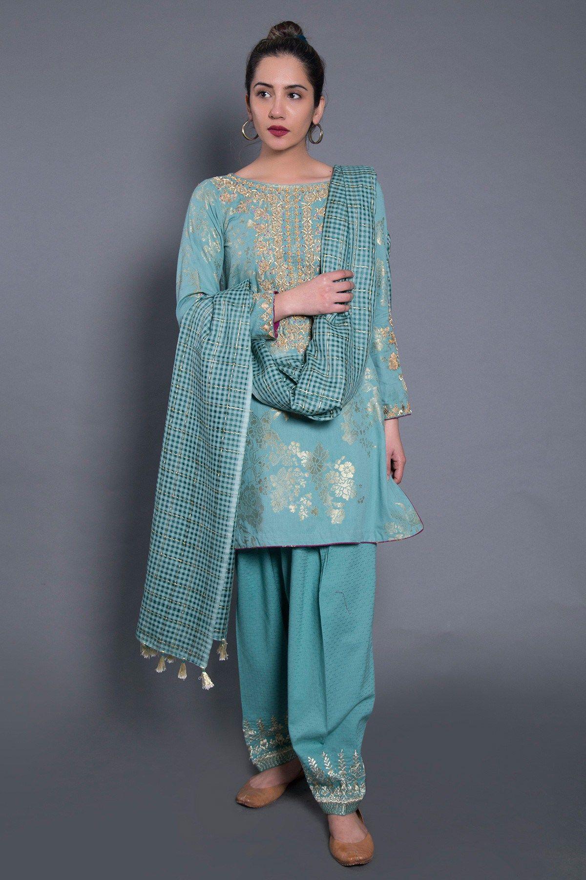 bfb1116ea5a Green 3 piece ready to wear dress by Generation formal wear 2019 ...