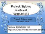 prateek stylome resale price 9910006454