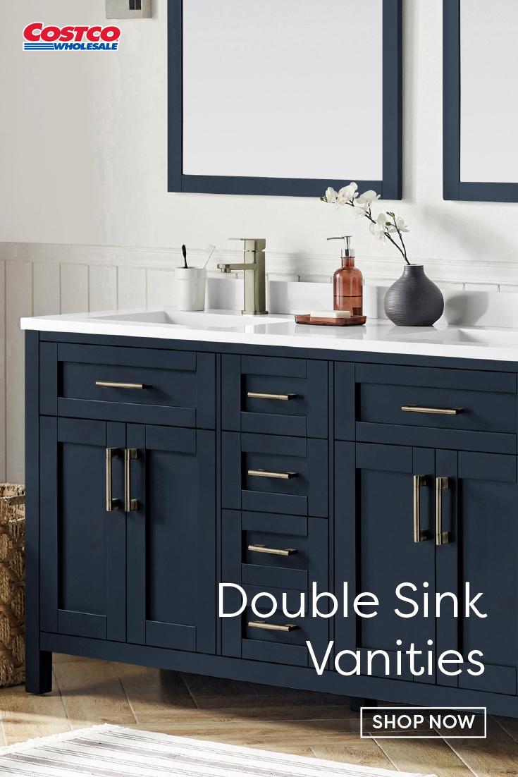 Lakeview 60 Vanity Midnight Blue In 2020 Vanity 60 Vanity Double Sink Vanity