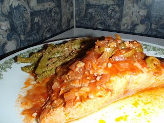 Poached Etruscan Salmon by zumurphy: Healthy, tender and savory!  #Salmon #Poached #Etruscan #zumurphy