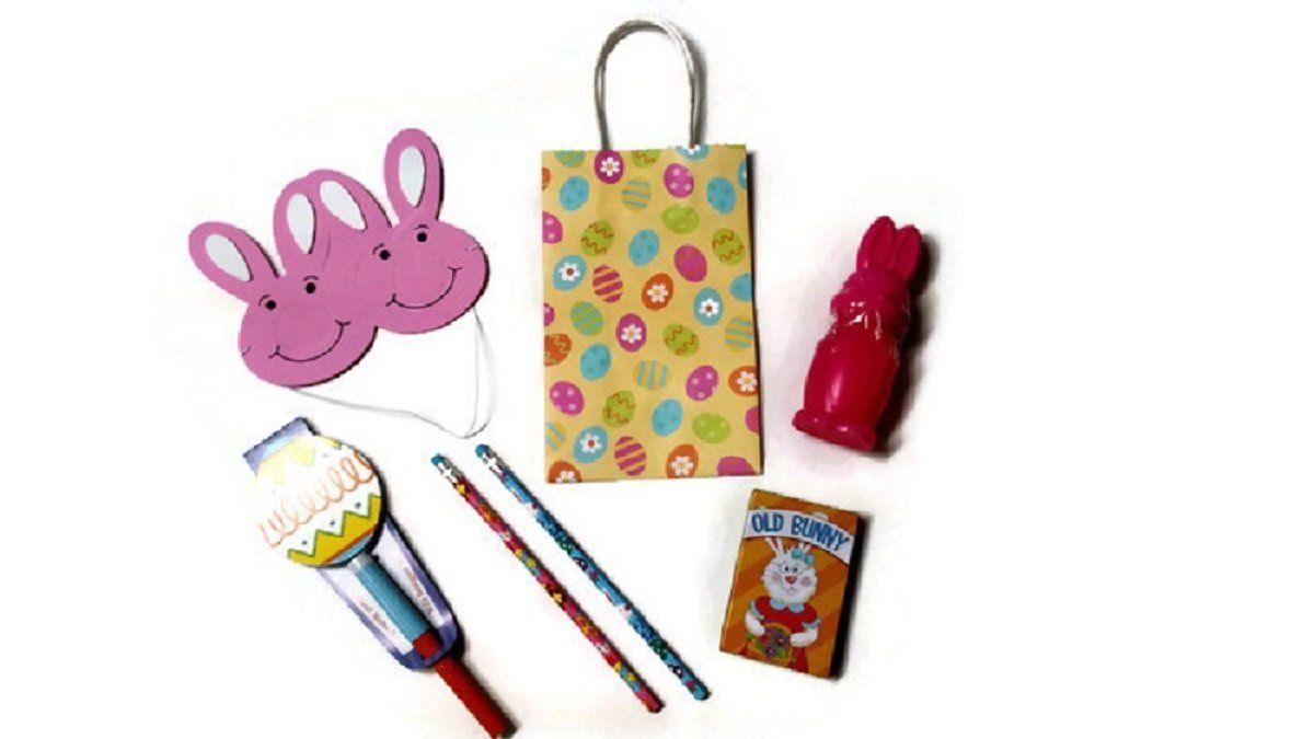 Easter gift bag filled with 8 items includes bag click easter gift bag filled with 8 items includes bag click negle Image collections
