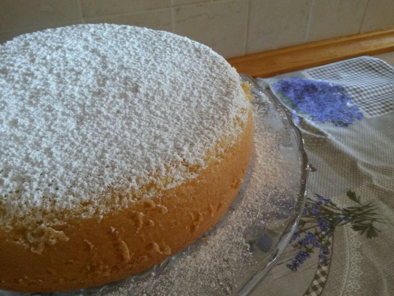 Chiara in Sugarland: Torta al Latte Caldo..torta paradisiaca!