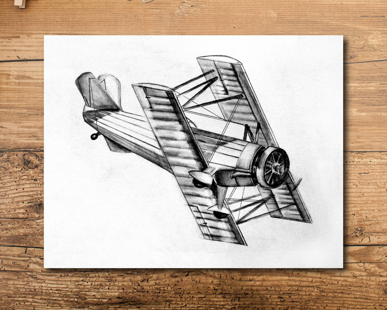 product patent aviation poster gift decor aircraft vertical and vanguard airplane blueprint landing takeoff pilot art