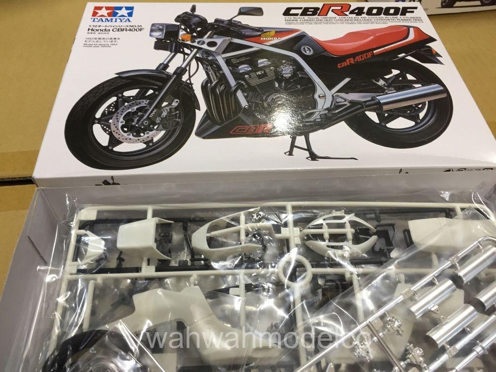 14035 Tamiya Honda CBR400F Motorcycle Model Kit 1 12 | eBay | model