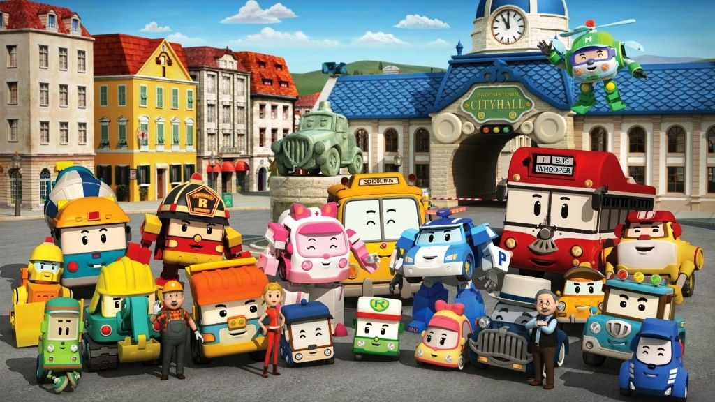 Group Of Wallpaper Robocar Poli Keren In 2019 Robocar Poli