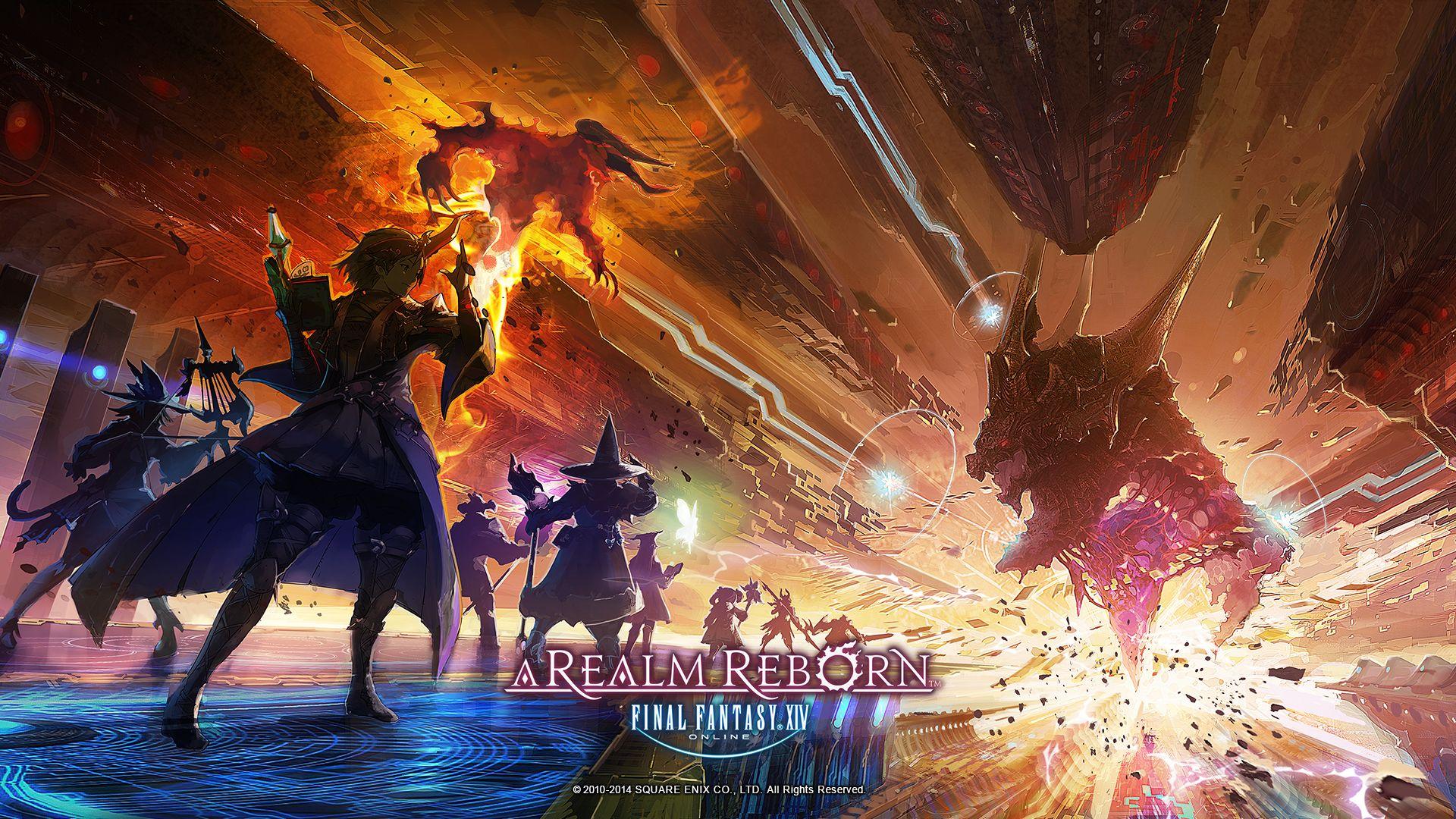 Final Fantasy Xiv Final Fantasy Xiv A Realm Reborn Mmorpg