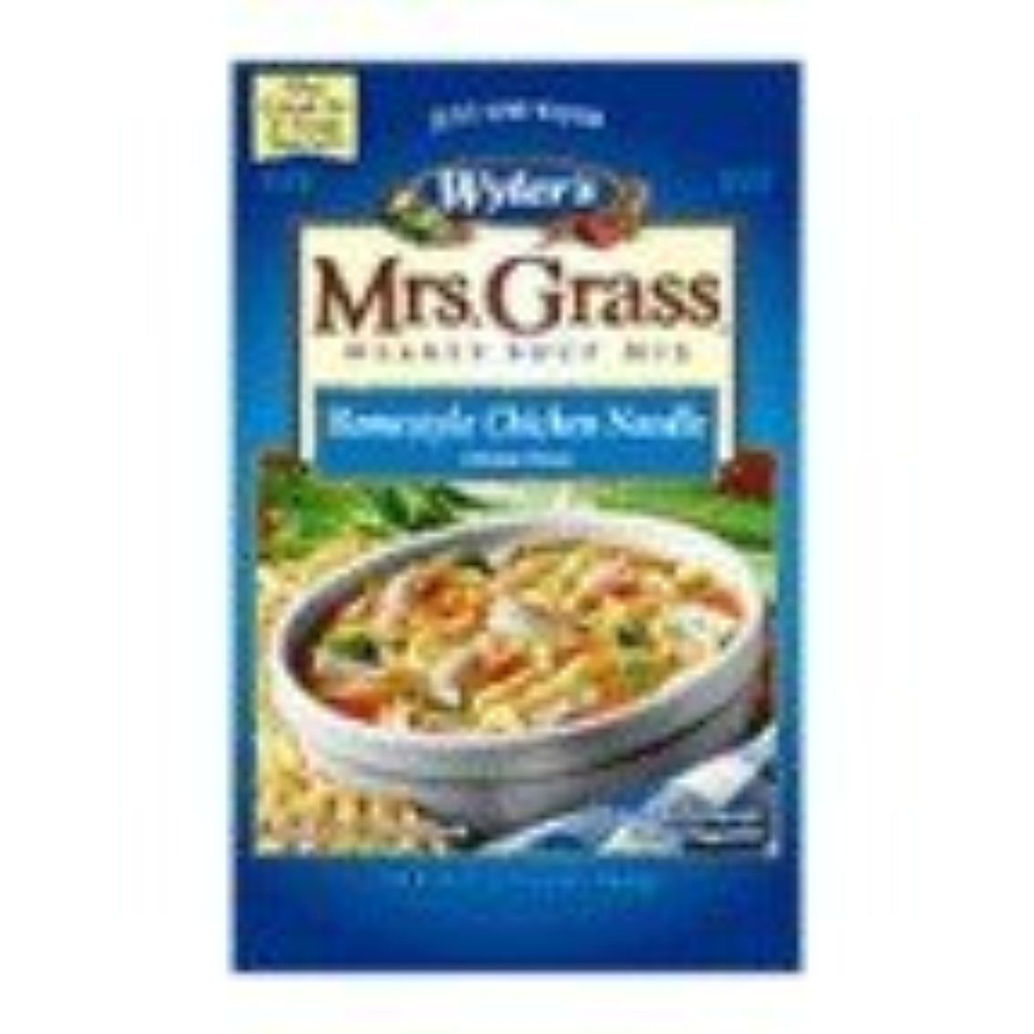 Mrs. Grass Hearty Soup Mix, Homestyle Chicken Noodle, 5.93 Ounce (Pack of 8) by Wyler's -- Awesome products selected by Anna Churchill