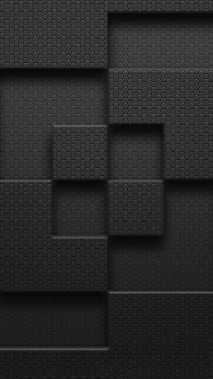 Black Geometric Wallpaper Wallpaper Edge Iphone  Plus Wallpaper Samsung Galaxy Wallpaper P