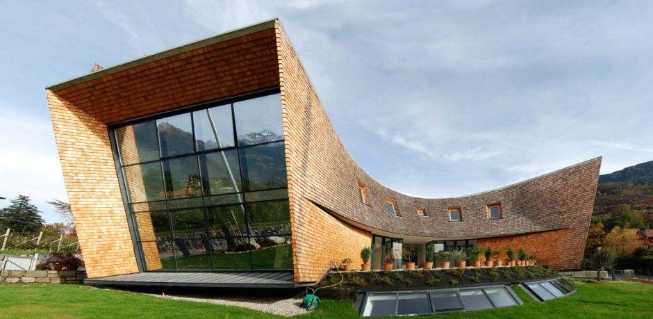 Modern Architecture In Italy austrian architect stephan unger designed the villa san valentino