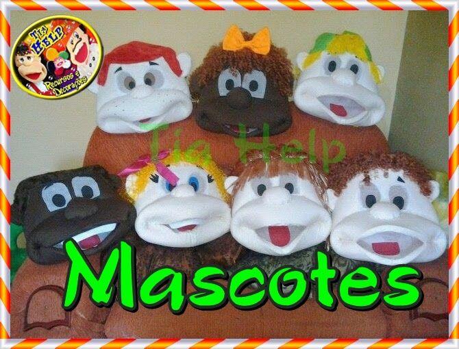 Mascotes, bonecões de vestir - sob encomenda