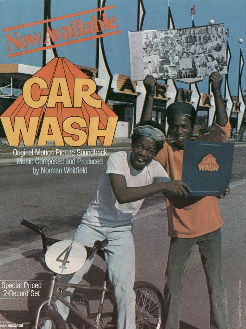 Workin' at the Car Wash Yeah Soundtrack music, Cars