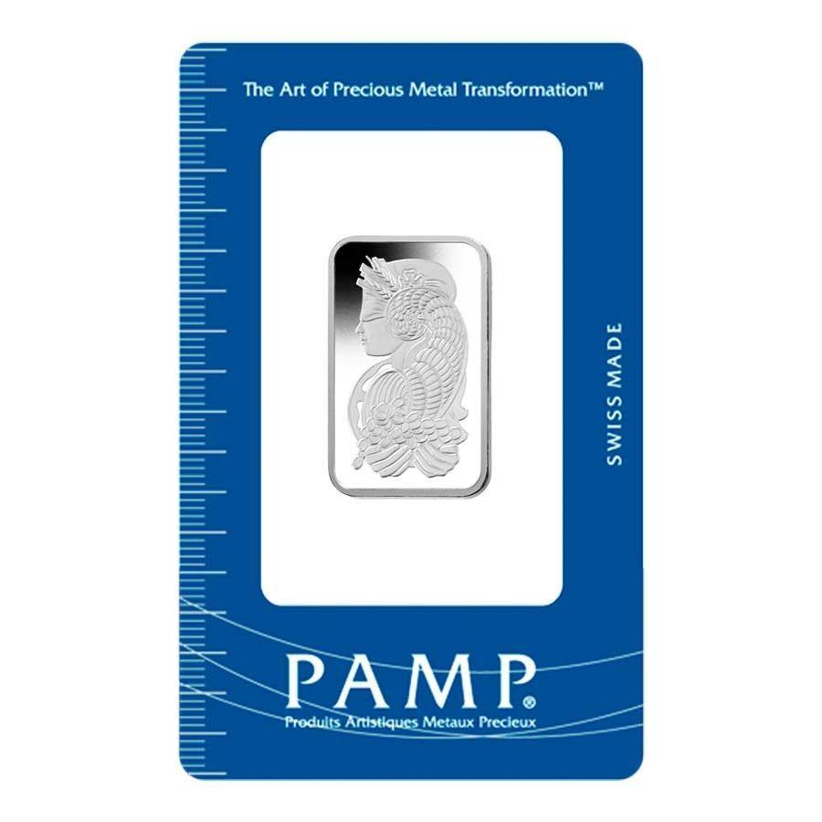 1 2 Oz Pamp Suisse Platinum Bar 9995 Fine In Assay Fortuna Gold Bar Palladium