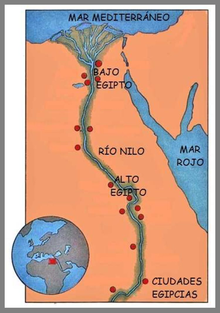 Pin By Lorena López León On Historia Egypt Map Ancient Egypt Egypt