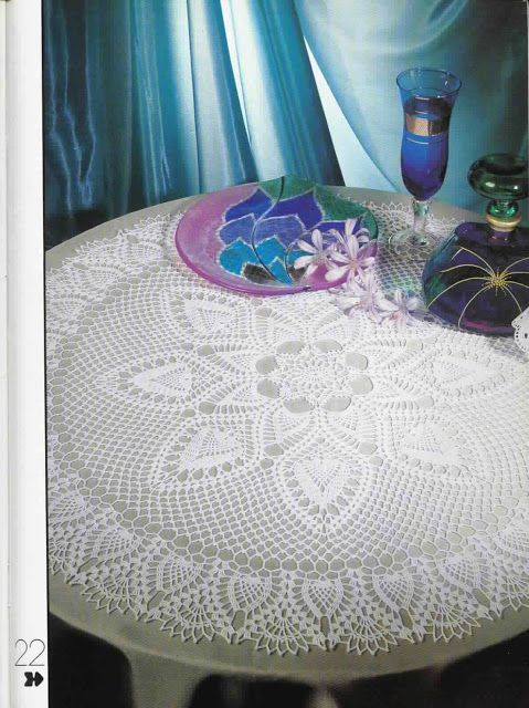 The 'Big Attraction'  free pattern in English and graph ....Very lovely Centerpiece.