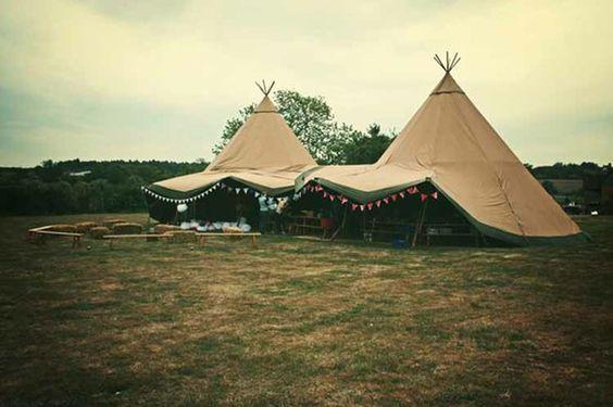 Bohemian wedding inspiration by wedoido // tags: wedding styling, teepee tent, wedding setup // #gypsysetup