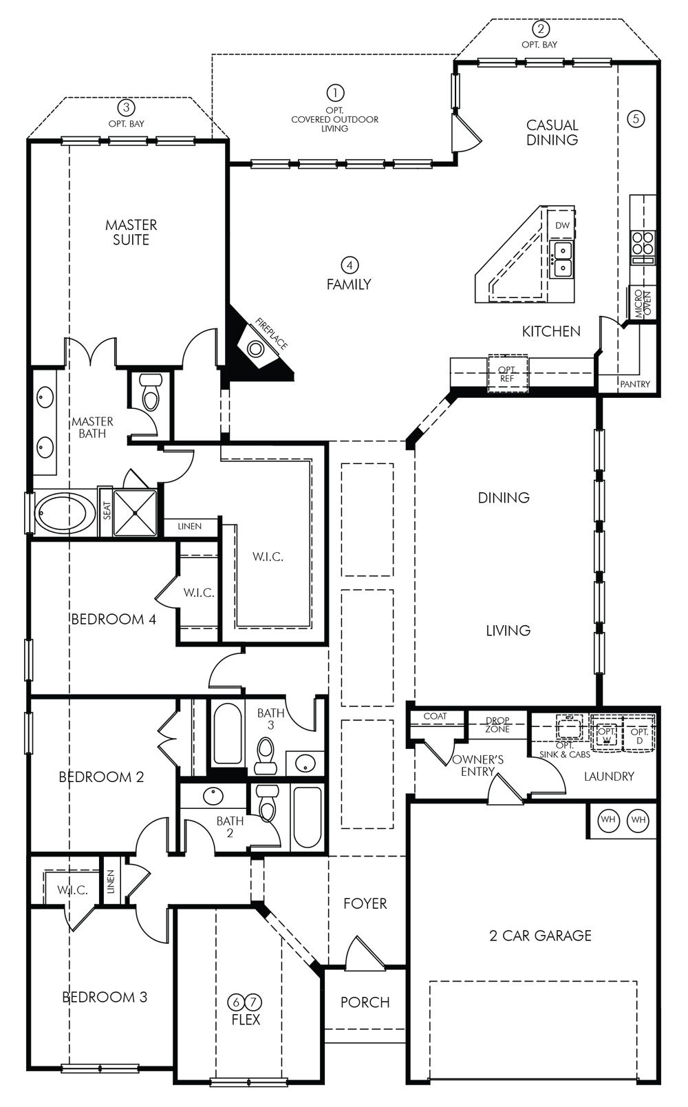 Our Favorite Biltmore By Meritage Homes From 326 990 As Of Aug 21 2016 Canyon Falls Dfw Texas House Floor Plans Floor Plans How To Plan