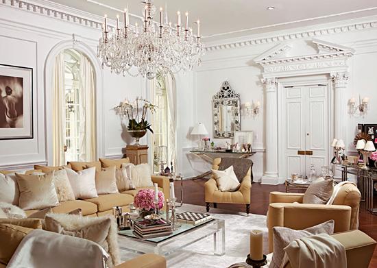 Holiday House Designer Showcase Glam Living Room Decor Glam Living Room Girly Apartment Decor
