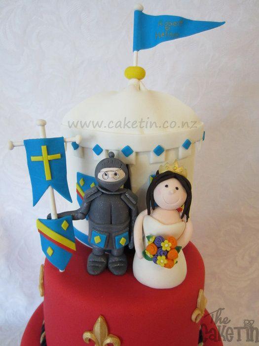 Renaissance Wedding Cakes | Medieval Wedding Cake   By The Cake Tin @  CakesDecor.com